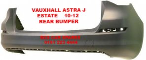 VAUXHALL ASTRA  J   ESTATE   REAR BUMPER   2010 - 2012    NEW  NEW